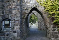 Knappensaal der Schlossruine Arnsberg