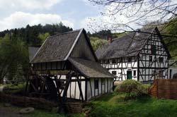 Wassermühle des Museumsdorfes Altwindeck