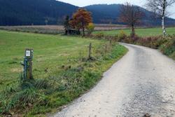 Die Heidenstraße zwischen Selkentrop und Werntrop