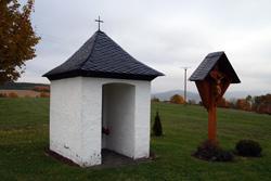 Die Vierzehn-Nothelferkapelle am Rande der Heidenstraße zwischen Selkentrop und Werntrop
