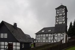Das alte Feuerwehrgerätehaus iin Eversberg