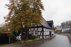 Matzen Haus. Das älteste Ackerbürgerhaus in Eversberg wurde 1595 erbaut