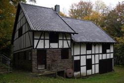 Historische Säge- und Getreidemühle