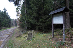 Touristeninformation Dreiherrenstein am Hühnerkamp