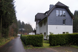 Ehemaliges Bahnhofsgebäude in Hohenhain
