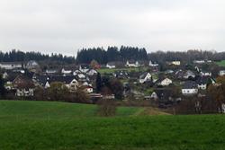 Blick auf Hohenhain
