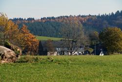 Blick vom Ehmsenweg auf Fahlenscheid