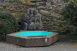 Der Rubensbrunnen im Schlosspark