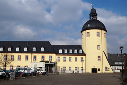 Nordflügel des Unteren Schlosses mit dem Dicken Turm