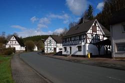 Fachwerkhäuser in Volkholz