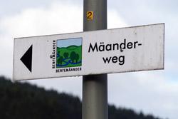 Markierung Mäanderweg