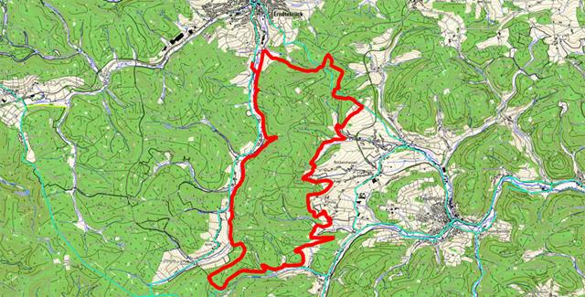 Route Mäanderweg