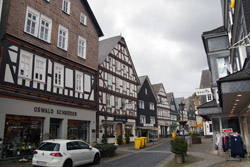Königstraße in Bad Laasphe