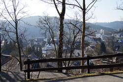 Blick hinunter über die Altstadt