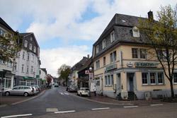 Die Hauptstraße in Meinerzhagen