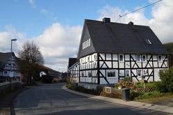 Erndtebrücker Straße in Afholderbach