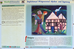 Schautafel 2: Aus em Laaspher Sagenborn