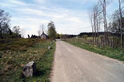 Heidenstraße in Richtung Astenberger Schanzen