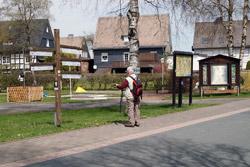 Vor dem Haus des Gastes Altastenberg