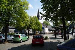 Der Marktplatz in Drolshagen