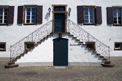 Treppe des ehemaligen Klosters
