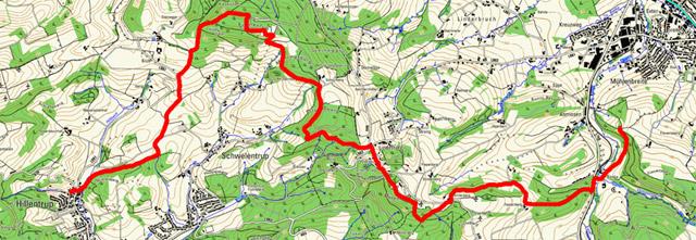 Route Hansaweg (X9) – 4. Etappe