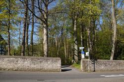 Zugang zum Burggarten