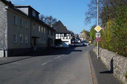 Leipziger Straße in Richtung Schloss