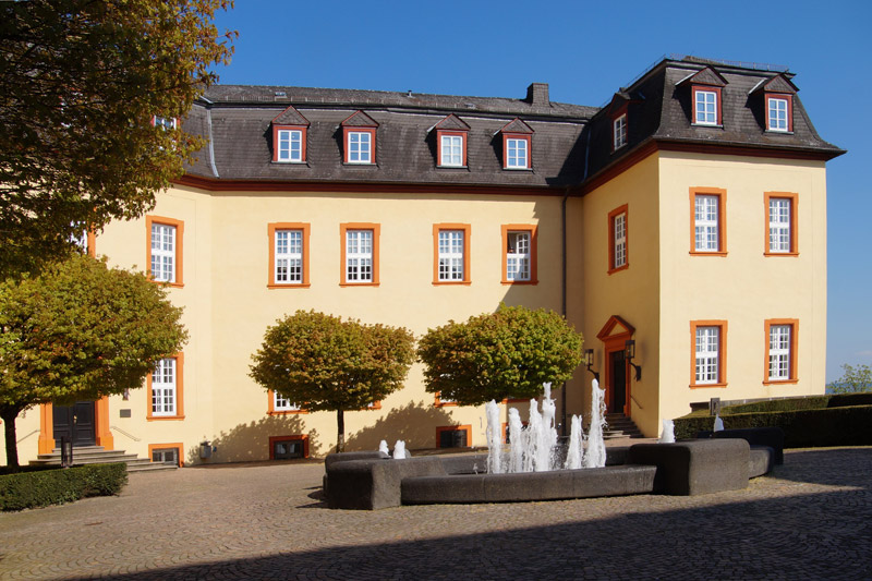 Historischer weg hachenburg fototagebuch Burg hachenburg