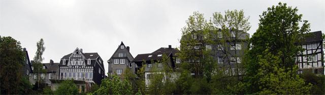 Bad Berleburg von unten