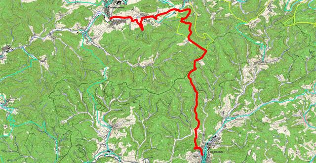 Route Waldskulpturenweg