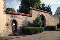 Torbogen Schloss Barntrup