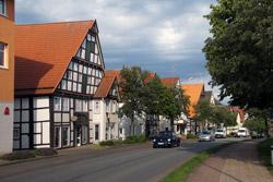 Die Mittelstraße in Barntrup