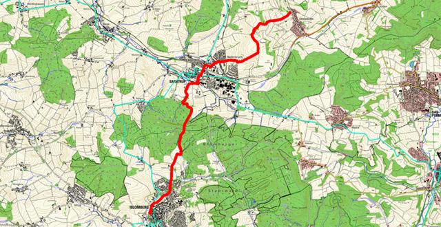 Route Pilgern in Lippe (Ostschleife) – 5. Etappe