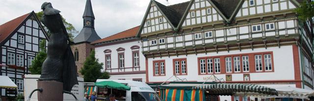 Marktplatz Blomberg