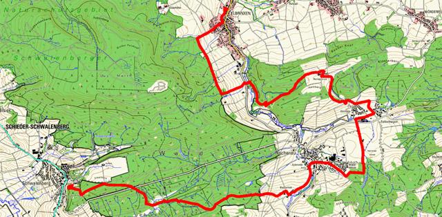 Route Pilgern in Lippe (Ostschleife) – 2. Etappe