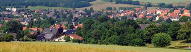 Blick auf Bösingfeld