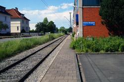 Bahnhof Extertalbahn in Bösingfeld