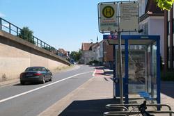 Bushaltestelle Brückenkopf in Hameln