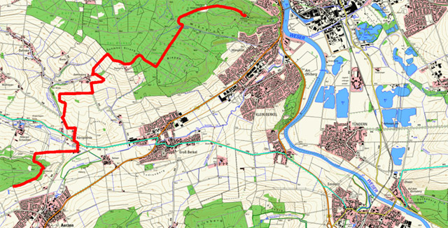 Route Hansaweg (X9) – 6. Etappe