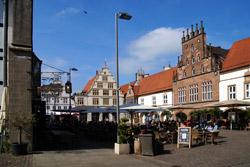 Marktplatz in Lemgo