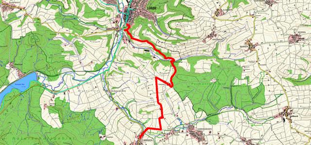 Route Pilgern in Lippe (Ostschleife) – 3. Etappe