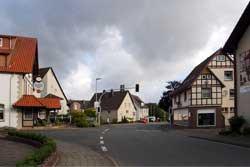 Untere Dorfstraße in Elbrinxen