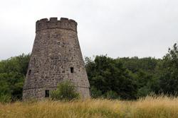 """""""Windmühlenpott"""" oder """"Windmühlenstumpf"""" auf dem Saalberg zwischen Sonneborn und Barntrup"""