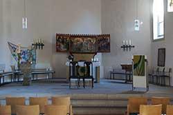 Altarraum der Kirche St. Jacobi in Rodenberg
