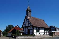 Die Laurentiuskapelle in Nammen wurde 1523 neu errichtet