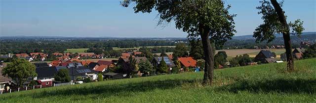 Panoramablick vom Nammer Berg