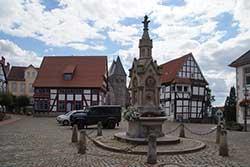 Marktplatz in Obernkirchen