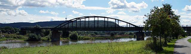 Die Weser bei Neesen