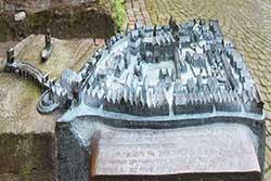 Modell Minden im Mittelalter